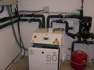 Instal laci d 39 energia geot rmica a castelldefels - Energia geotermica domestica ...