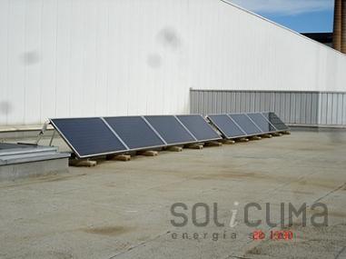 Energia solar d'us industrial